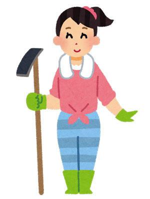 農家の女性 農ガール