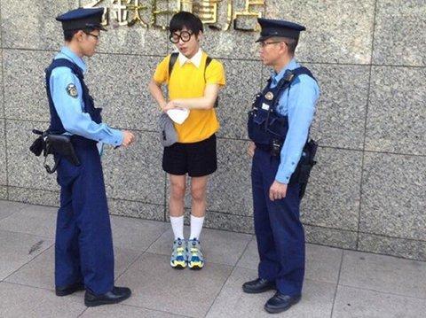 職質 警察