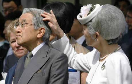 天皇陛下 髪の毛