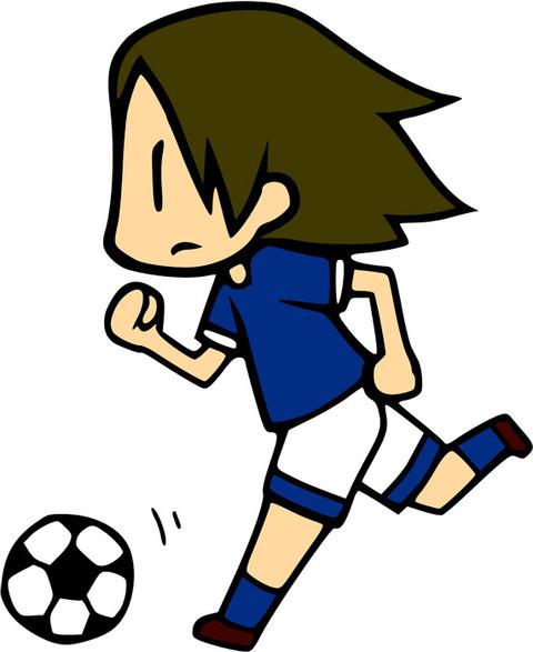 サッカー 女