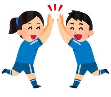 サッカー 男女