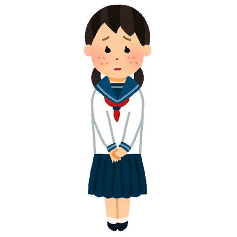 女子中学生 (2)