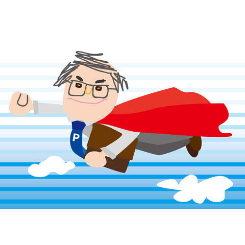 子供が描いたスーパーマン