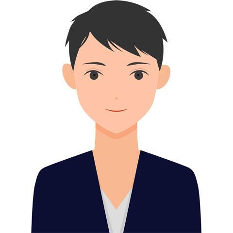 イケメン風の若い男性