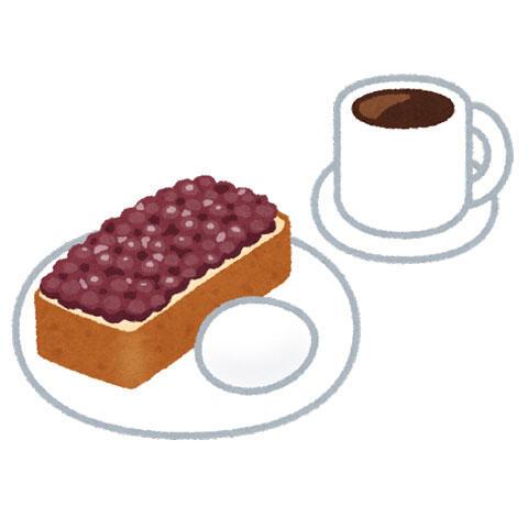 カフェのモーニングセット