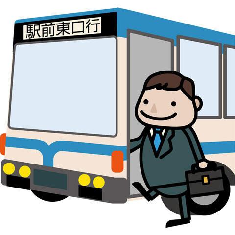 バス バス停