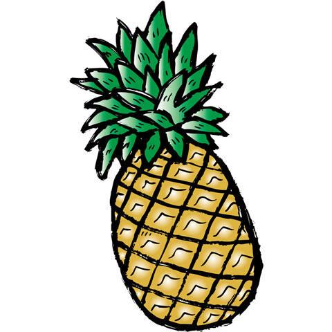パイナップルの実