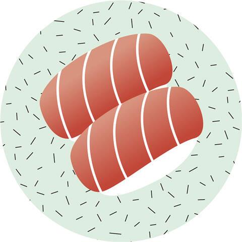 トロの握り寿司