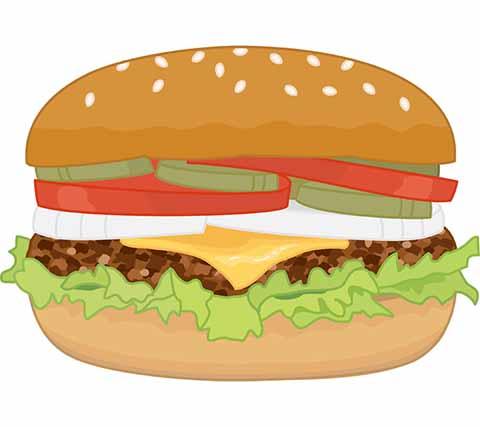 ハンバーガー (2)