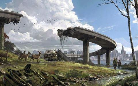 世界崩壊 アート