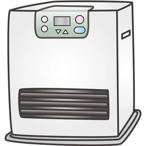 石油ファンヒーター 暖房器具