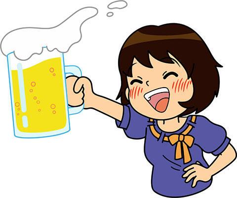 女の子 飲み