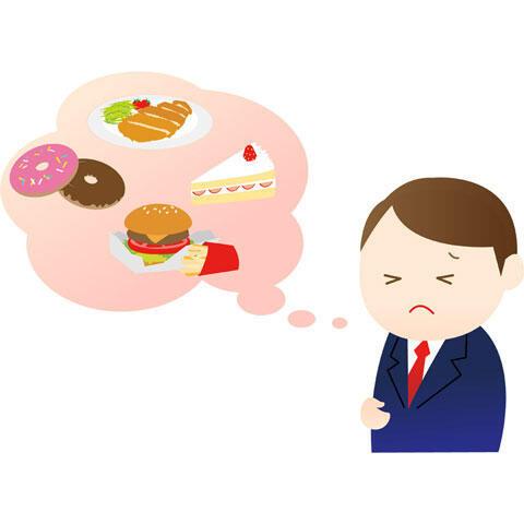 食事制限 ダイエット中の男性