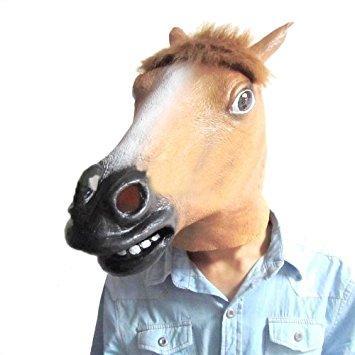 馬のお面 事案