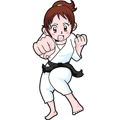 女の子 格闘技