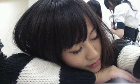 前田敦子寝顔