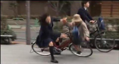 自転車スマホ