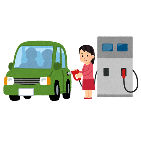 【悲報】彼氏がガソスタで金額指定でガソリン入れててワロタwwwwwwww