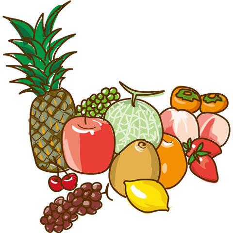 いろいろなフルーツ