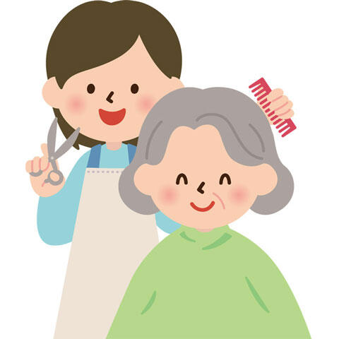 おばあさん-性美容師