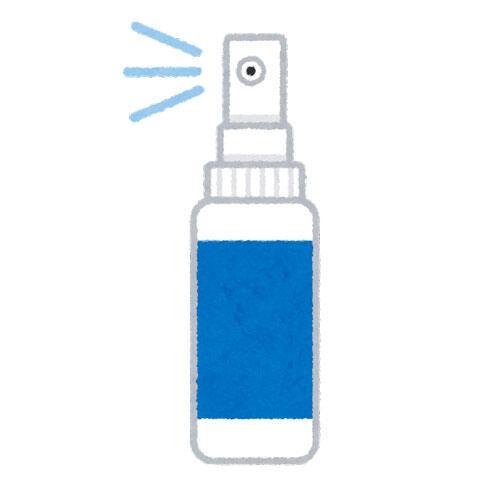 携帯用の除菌スプレー