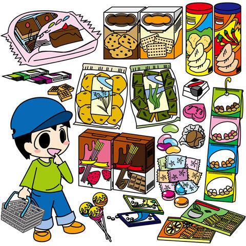 買い物 お菓子