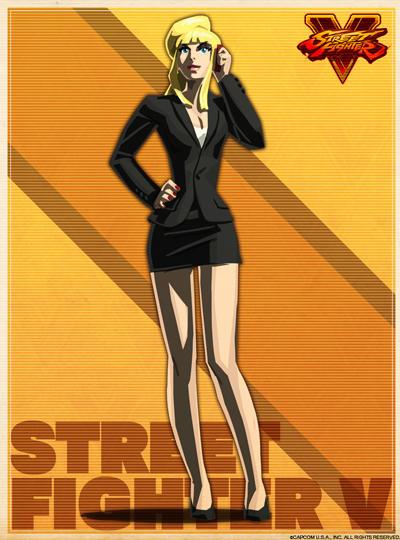 ストリートファイター5 女キャラ