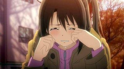 女の子 泣く