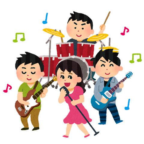 女性ボーカルのバンド