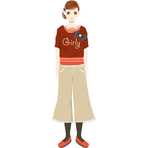 ガーリーファッション