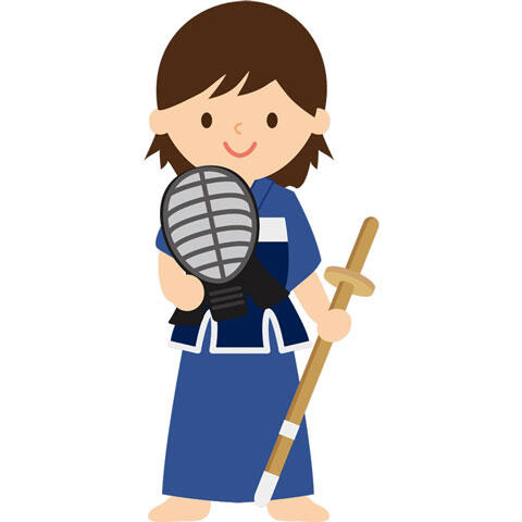 剣道部女子