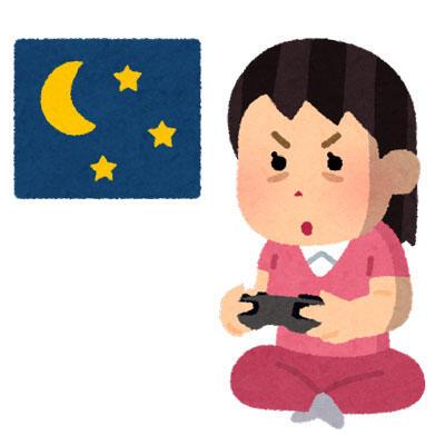 ゲームに熱中している女性ゲーマー
