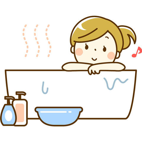 さっき浴槽から立ち上がったら・・・・・・
