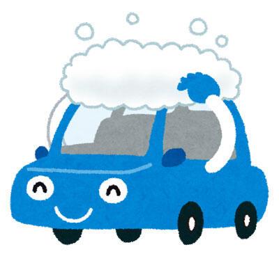 車のキャラクター 笑顔