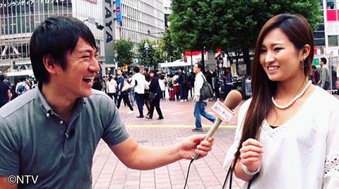 街頭インタビュー