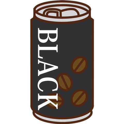 缶コーヒー ブラック