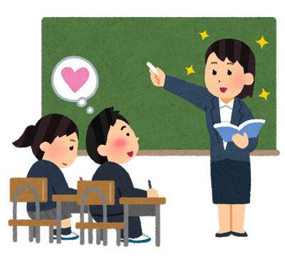 先生に恋する生徒