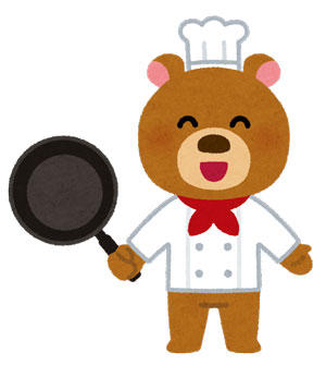 クマ 料理