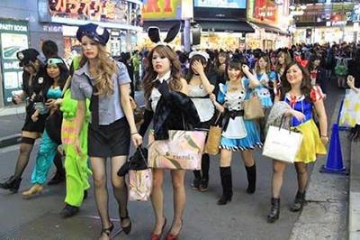 ハロウィン 渋谷