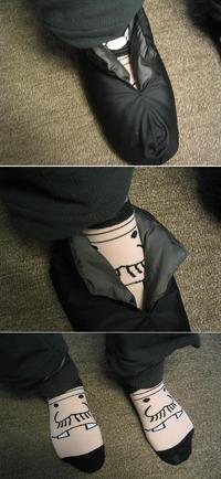 バカボン靴下