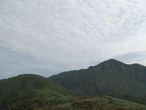 釈氏ヶ岳(杓子岳)〜中岳〜経ヶ岳