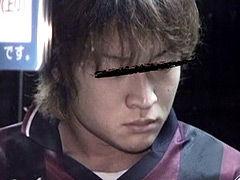 イケメンスポーツマンが露出オナニー敢行!?