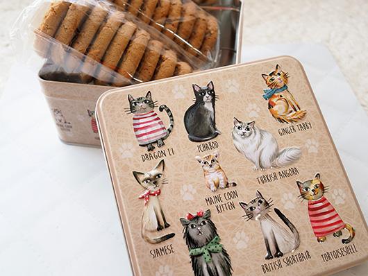 カルディ猫缶クッキー