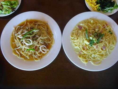 スパゲッティ—2種と