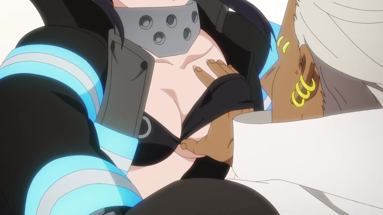 ノ ラッキー スケベ 炎炎 消防 隊
