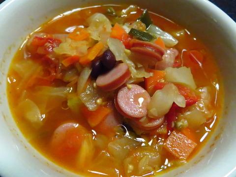 こういうスープ大好き♪