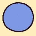 ゴムボール(青)