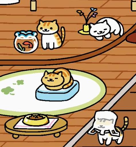 ひんやりマットと金魚鉢