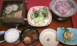 ホテル山翠の夕食3