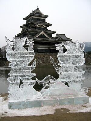 氷の彫刻3